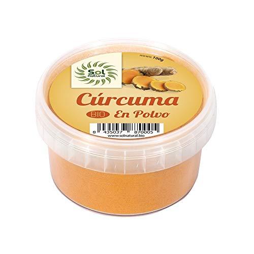 Solnatural Curcuma En Polvo Bio 100 G 100 g