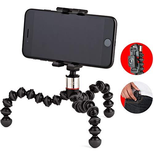 JOBY GripTight One GP Stand - Soporte Universal y trípode GorillaPod Flexible para Smartphone e iPhone, JB01491-0WW