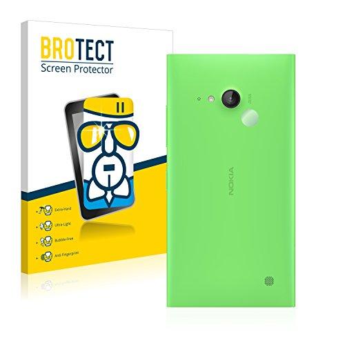 BROTECT Panzerglas Schutzfolie kompatibel mit Nokia Lumia 730 Dual SIM (NUR Kamera) - AirGlass, extrem Kratzfest, Anti-Fingerprint, Ultra-transparent