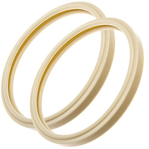 Impresa Products 2-Pack Pentair-Compatible Light Lens Gasket - 8 3/8 - Equivalent to 79101600Z - Works with IntelliBrite Lights, AmeriLite Lights and SAm AmerLite Lights in Pools and Spas