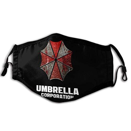 Umbrella Corporation Bandane unisex per il viso alla moda Fascia per la testa Indossa una sciarpa per il viso con collo a tubo