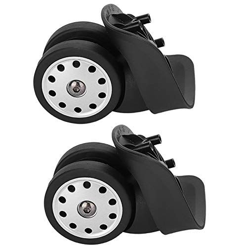 AMONIDA Lightweight Universal Suitcase Replacement Wheel, Luggage Wheel, PP+PET Scratch Resistance Suitcase Daily Furniture for Home or Family Outdoor