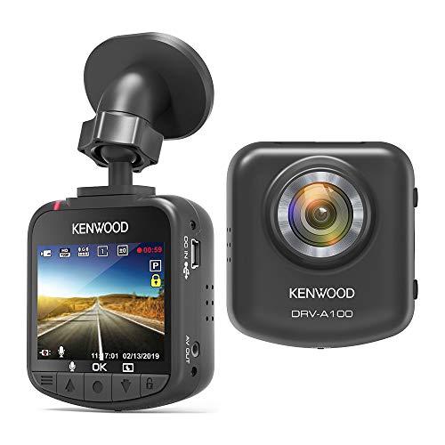 "Kenwood DRV-A100 - HD Dash Cam with 2.0"" LCD Screen - 16 GB micro SD card"