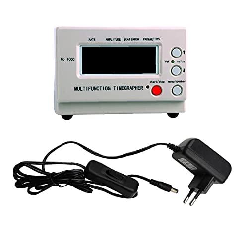 Timegrapher Mechanische Watch-Timing-Maschine Multifunktionstester, LCD-Anzeigen-Kalibrierungs-Reparaturwerkzeuge Große Aufnahmekapazität