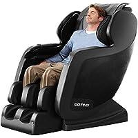 Ootori Zero Gravity Adjustment Airbag Full Body Shiatsu Massage Chair Recliner with Heating & Foot Roller & Bluetooth