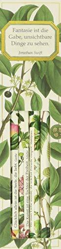 Bleistift-Set mit Sprüchen - Sammlung Augustina