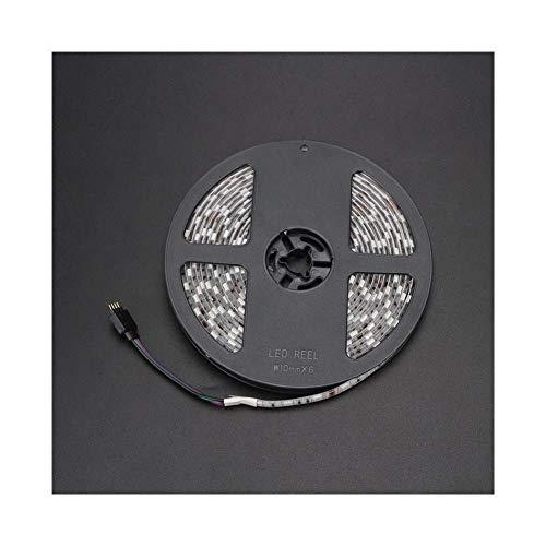 3D Printer Parts Waterproof LED Light RGB 5050 LED Strip With Connector L 5M For F6 / Lerdge Board Extruder Module RGB Control 3D Printer Parts (Size : 24V light 5M) (Size : 24V light 5M)
