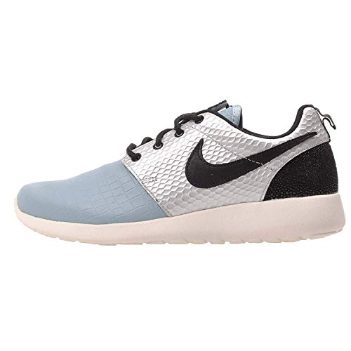 Nike WMNS Roshe One LX Damen Sneaker Damensneaker Schuhe Running 881202 Silber-Schwarz EU 40