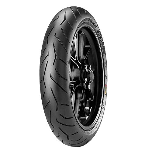 Pneumatici Pirelli DIABLO ROSSO II 120/60 ZR 17 M/C (55W) TL Anteriore SUPERSPORT gomme moto e scooter