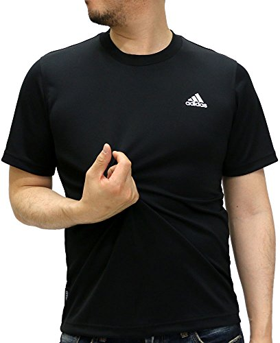 (アディダス)adidas トレーニングウェア エッセンシャルズ BASIC パック半袖Tシャツ ABN57 [メンズ] AP3906 ブラック/ホワイト J/S
