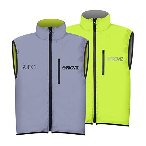 Switch Reflective Proviz Cycling Gilet Homme Marine Taille XXL