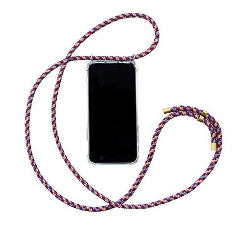 Hanek Funda iPhone 11 Pro Funda de móvil con cordón para Colgar – Cuerda para Llevar en el Cuello Colgante – Carcasa de TPU de Alta Resistencia – Deja el Bolso en Casa – Hecho a Mano