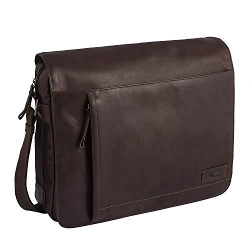 camel active, Messenger Bag, Herren, Umhängetasche, Arbeitstasche, Business Tasche, Schultertasche, Laredo, Braun