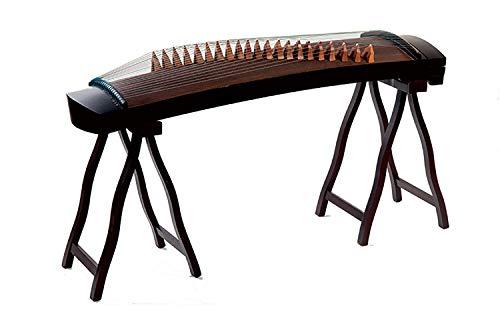 N /A Guzheng, Mini Guzheng Tragbar, Guzheng Finger Trainer, 21 String Adult Short Kite 120cm geeignet for professionelle Performance, Anfänger Anfänger Anfänger Kinder