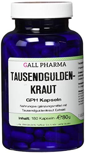 Gall Pharma Tausendguldenkraut GPH Kapseln, 180 Kapseln
