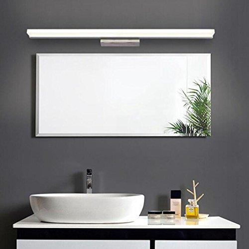 BiuTeFang 14W LED Spiegelleuchten Schranklampe AC85-265V Moderne Wasserdicht IP44 Badbeleuchtung Wandleuchte Kaltweiß 100CM