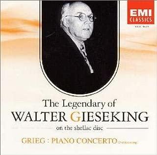 グリーグ:ピアノ協奏曲(第2回録音)〈SPレコードに聴くワルター・キーゼキングの遺産Vol.12〉