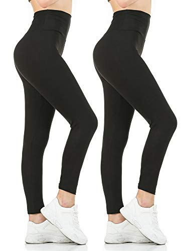 (40% OFF) Women's Plus Size 2-Pack Leggings $11.99 – Coupon Code