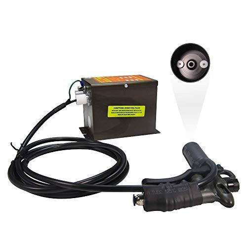 YUCHENGTECH Pistola electrost¨¢tica ionizante pistola ionizante antiest¨¢tica Ionizador antiest¨¢tico Eliminador de est¨¢tica industrial 220V(con una pistola de aire)