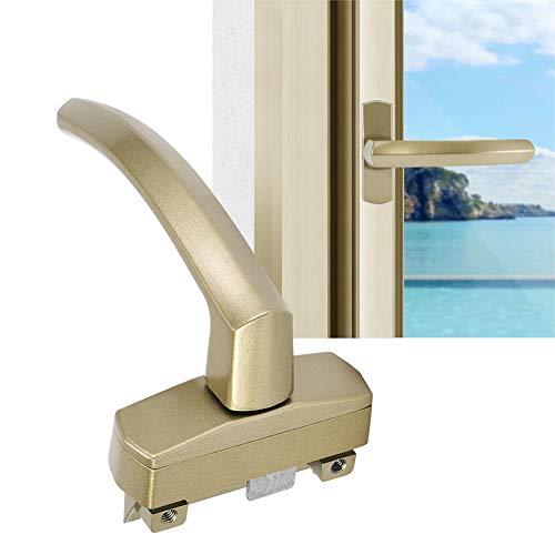 Manija de ventana, manija de ventana de apertura plana -envejecimiento para hotel