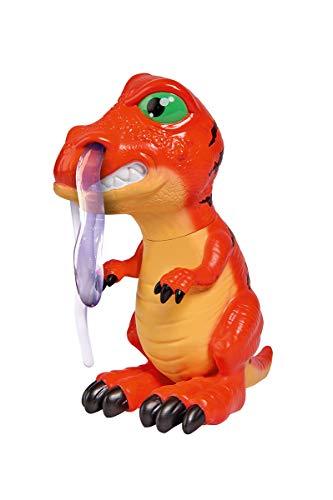 Simba 104344427 T-Rotz / rotzender Dinosaurier / 16cm / Schleim durch die Nase drücken / 60ml
