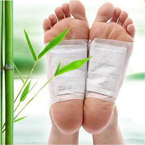 10pcs Detox Foot Pad Patches Exhaust Toxins Glue Health Care Fever