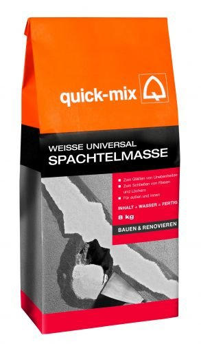 Quick-Mix weiße Universal-Spachtelmasse 8 kg