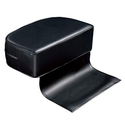 Silla de peluquero PU barbero Booster Cojín para niños Silla Cojín asiento elevador auxiliar Sillas para bebés Elevación asientos con cojines