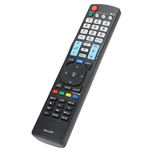 Goshyda Control Remoto de Repuesto, Control Remoto de TV, Control Remoto Inteligente con Baja pérdida y Larga Distancia remota, para LG Smart Television