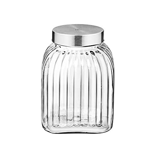 Treo By Milton Bruno Glass Storage Jar, 3500 ml