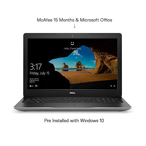 Dell Inspiron 3595 15.6-inch Laptop (A6-9225/4GB/1TB HDD/Windows 10 + MS Office/Radeon R4...