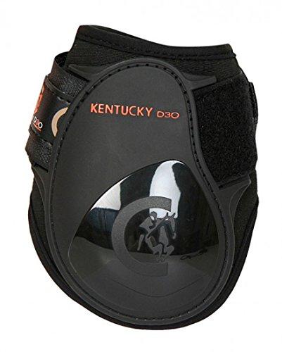 Kentucky Streichkappe Light Young Horse schwarz - Light Young horses fetlock boots black (schwarz / black, VB / WB ( Size: full ))
