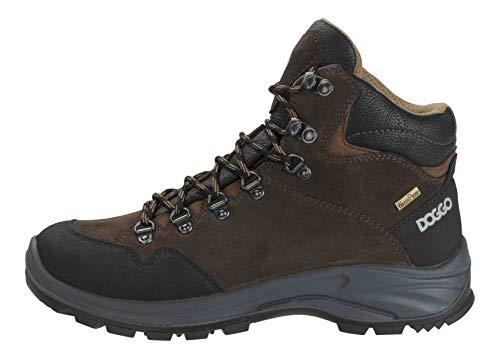 DOGGO Unisex-Erwachsene Boje Biker Boots, Braun/Schwarz, 38 EU