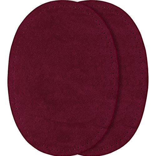 Prym 14x 10cm 2-teilig Nachahmung Wildleder Patches für Bügeln/Sewing-on, schwarz