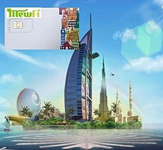 [UAE アラブ首長国連邦] DU ラオス UAE アラブ首長国連邦 4G-LTE データ通信 プリペイドSIMカード (6日間)