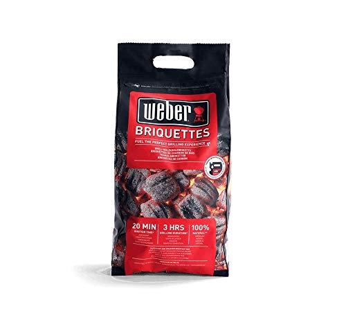 Weber Bricchetti Carbone fsc carbonella in Formato Sacchetto 4 kg