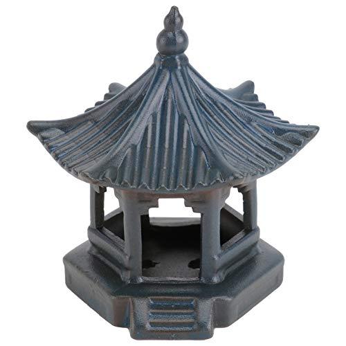 SOIMISS Asiatische Pagode Mini Pagode Statue Keramik Wasserturm Moos Pagode Feengarten für den Außenbereich Gartendeko Mini Landschaftsdekoration