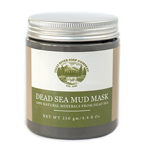 Dead Sea Mud Mask for Face, Body & Hair Treatment. 100% Natural minerals from Dead Sea, 250g / 8.8 fl.oz