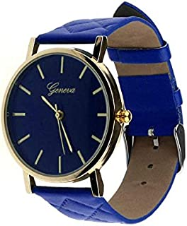 Geneva Casual Watch For Unisex Analog Leather - D457