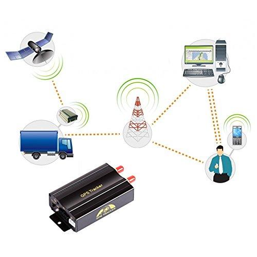 AFTERPARTZ® OVO-103A Profi Auto Motorrad GPS Tracker Anti-Diebstahl Überwachung GSM GPRS Google Peilsender SMS-Befehl Kostenlose Abbildung 2