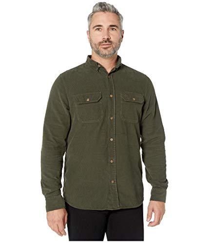 FJÄLLRÄVEN Övik Cord Shirt M T-Shirt à Manches Longues Homme Deep Forest FR: S (Taille Fabricant: S)