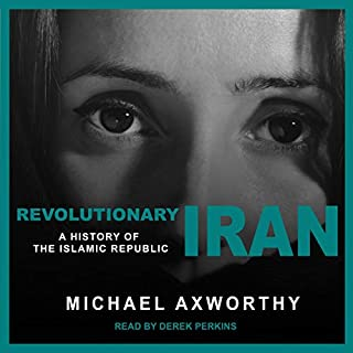 Revolutionary Iran audiobook cover art
