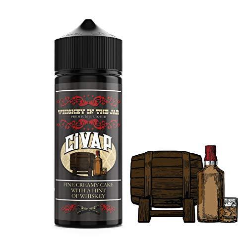 CiVAP e Liquid Shortfil Whiskey in the Jar Kuchen Whisky, 0mg, ohne Nikotin, Vape E Zigaretten, 100ml