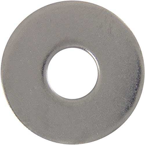 Große Unterlegscheibe M20 Form A (10 Stück) aus Edelstahl A2 (V2A) DIN 9021 Flach Unterlegscheiben Beilagscheiben Kotflügelscheiben U-Scheiben | AG-BOX®