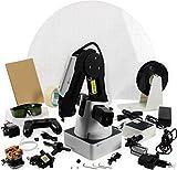 DOBOT Magician programmierbarer Bildungsroboter, 4-Achsen-Roboterarm mit 3D-Drucker, Lasergravierer, Stifthalter, Saugkappe, Greiferköpfen für K12 oder STEAM Education - Pädagogische Version