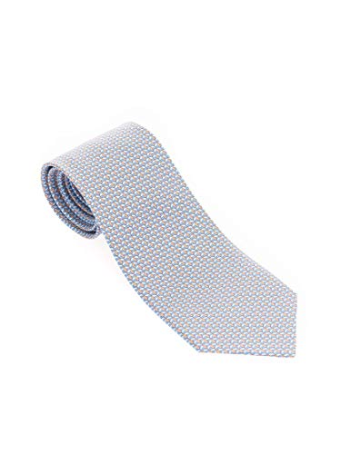 Salvatore Ferragamo Luxury Fashion Herren 3587605 Hellblau Krawatte |