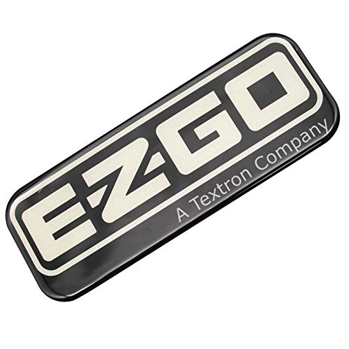 CLUBRALLY Name Plate for 2008 up EZGO RXV Golf Carts 606405