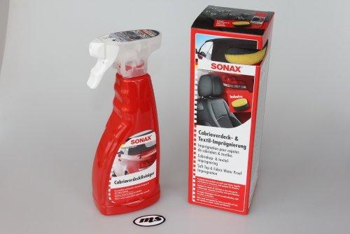 SONAX MS Cabrio Verdeck Reinigung Spezial-SET - Reiniger+Imprägnierer 2teilig