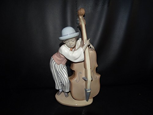 Lladró - spanische Porzellanfigur: Mann mit Cello - neu