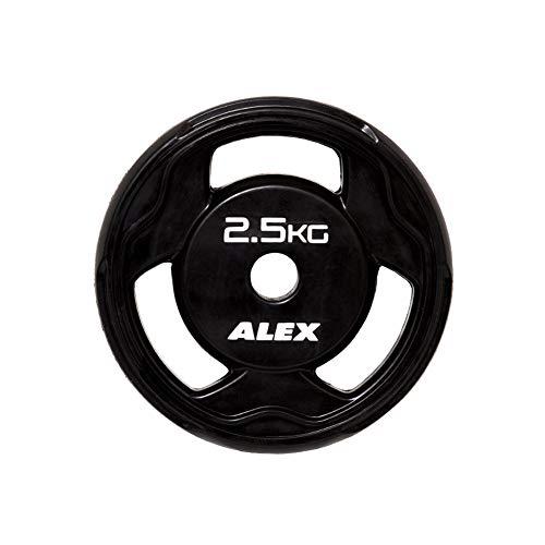 ALEX BPR ラバープレート 2.5Kg [穴径28mm] 黒